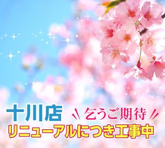 十川店リニューアル工事中